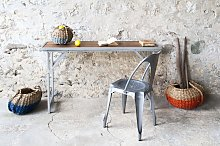 Consola de teca de estilo vintage Bollène