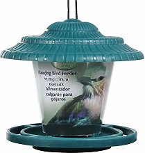 Contenedor de plástico para colgar pájaros,