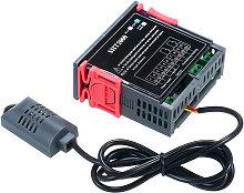 Controlador de temperatura y humedad con pantalla