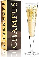 Copa de champán Petra Mohr de cristal de 200 ml,