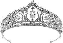 Corona barroca para niñas o mujeres Tiara de