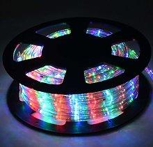 Costway - 10M Luz Manguera 360 LED Luces de