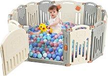 Costway 14 Panel Parque Infantil para Bebé