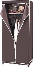 Costway Armario de Tela Plegable Guardarropa con