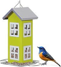 Costway Comedero de Pájaros Casa para Pájaros de