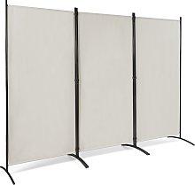 Costway Divisor con 3 Paneles Separador Plegable