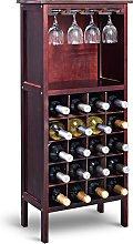 Costway Estante de Vino Botellero para 20 Botellas