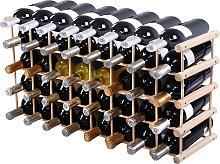 Costway Estante de Vino para 40 Botellas Botellero