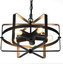 Costway - Lámpara de Techo Diseño Araña Estilo