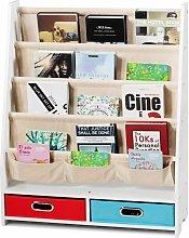 Costway - Librería para Niños Estantería con 2