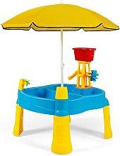 COSTWAY Mesa Arena y Agua para Niños Mesa de