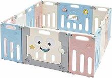 Costway - Parque Infantil Bebé con 14 Paneles