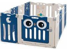 Costway - Parque Infantil Bebé de 12 Paneles
