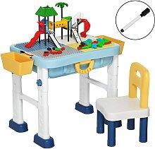 COSTWAY Set de Mesa Infantil de Actividad 6 en 1
