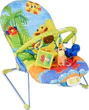Costway Silla mecedora para niños con juguetes y