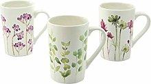 Creatable, 20893, BOTANICA series, set of cups 6
