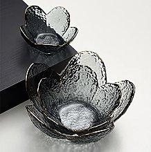 Creative Flower Petal Bowl, Vajilla de vidrio