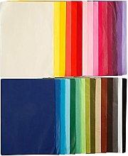 Creavvee Papel de Seda, Multicolor, 20 x 30 cm
