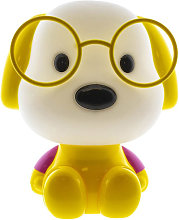 Cristalrecord - Lámpara infantil perrito amarillo