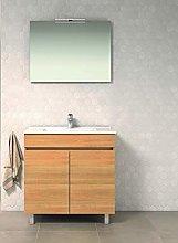 CTESI Conjunto de Mueble de baño con Lavabo de