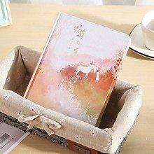 Cuaderno A5 Line, grande, simple, en blanco, color