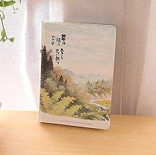 Cuaderno A5 Line, grande, simple, en blanco, en