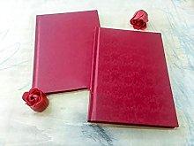 Cuaderno A5 Rojo Cuaderno Bodas, premios,