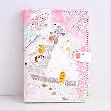 Cuaderno A5 Varias páginas interiores Lindo rosa