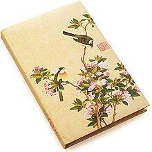 Cuaderno A5 Vintage estilo chino, papelería,