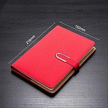 Cuaderno con hebilla magnética A5 Cuaderno de