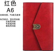 Cuaderno creativo Cuaderno A6 Cuaderno de viaje