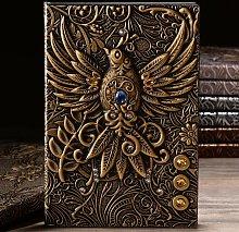 cuaderno Cuaderno retro europeo Cuaderno fénix en
