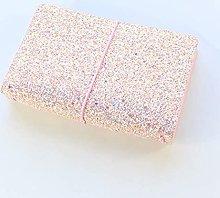 Cuaderno de bolsillo rosa lindo Kawaii creativo