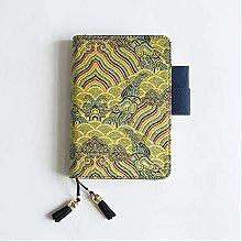 Cuaderno de borlas chino Diario Diario semanal