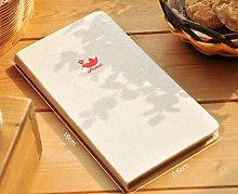 Cuaderno de cubierta de lino Vintage, cuaderno de