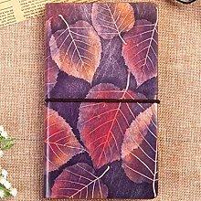 Cuaderno de cuero natural Vintage Creativo Diario