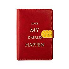 Cuaderno de cuero Pu A6 Creativo Binderjournal