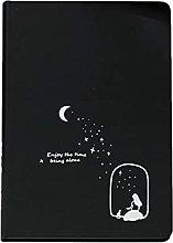 Cuaderno de papelería Papel en blanco negro