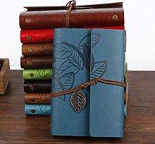 Cuaderno recargable vintage con libros de