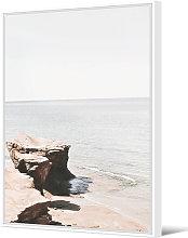 Cuadro Batna Junto Al Mar 140x100cm - Trends Home