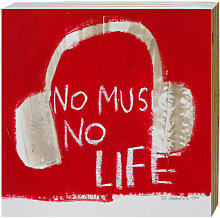 Cuadro No Music - The Catman