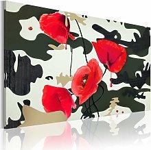 Cuadro - Pintura de guerra Medidas 90x60