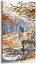 Cuadro sobre lienzo - Impresión de Imagen - Ojo