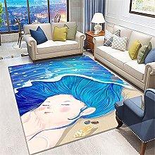 cuadros decoracion salon grandes alfombras