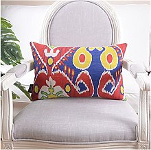 Cubierta de almohada de lino Cubierta de cojín