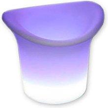 Cubitera luminosa led RGB Recargable, RGB