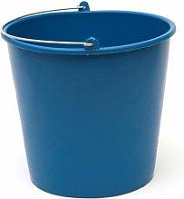 Cubo Agua Liso Reciclado - Azul - 6 Litros