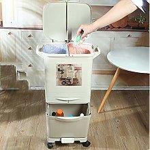 Cubo basura de cocina con tapa,Sistema de
