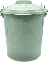 Cubo basura plastico comunidad con tapa 21 Litros