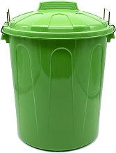 Cubo basura plastico comunidad con tapa 51 Litros